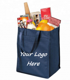 lower cost bag with logo